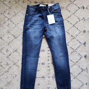 Skinny Jeans lightly distressed